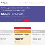 nbn 100/20Mbps Unlimited $78.90 Per Month @ Kogan