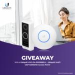 Win a Ubiquiti UVC-G4-Doorbell & UAP-NANOHD Access Point (Worth $550) from Mwave