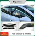 Weather Shields for Mazda 3 BP Series 2019-2021 from $50 Delivered @ Orientalautodecoration