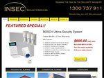 $695 for Bosch Ultma 880 3 Sensors Home Security System Fully Installed