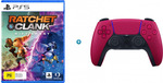 [LatitudePay] PS5 Ratchet & Clank: Rift Apart and Sony DualSense Controller Cosmic Red $107 @ Harvey Norman
