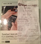 Belkin TuneCast Auto Live for iPhone and iPod for $9.83 @ Target ($44- $79 Elsewhere)