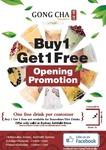 Ashfield Gong Cha Milk Tea Buy 1 Get 1 Free Opening Promotion [Ashfield, NSW]