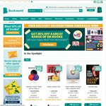 30% off at Bookworld (20% off with Code + 10% off with Citizen Discount) - Books Only