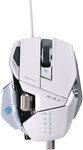 Mad Catz RAT 7 White Gaming Mouse $49.95 (Free Pickup or +Delivery) 6400DPI/USB @ The Gamesmen