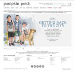 FLASH SALE Friday to Sunday - 25% off Entire Store & Online @ Pumpkin Patch