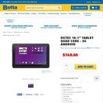 """$139 DGTEC 10.1"""" 3G Tablet @ Betta"""