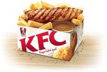 KFC $2 Taster Box - Chips, Gravy & Small Piece of Grill Chicken Breast