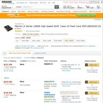 Patriot LX Series 128GB High Speed SDXC Class 10 $33.13 USD ~ $43 AUD Delivered @ Amazon