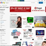 20% off Target eBay Store