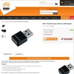 UWF-1 BLACK Onkyo Wireless USB Adapter for $20 Delivered @ Amber Technology
