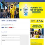 Aqium Antibacterial Hand Sanitiser - Free after Cashback - (Normally $4.99) - from GPPW