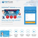 Netcube Unlimited Lite Plan Internet $49.95/Month 6 Month Contract - Prepay 3 Months