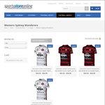 Western Sydney Wanderers Jerseys 50% off (from $34.95 + Post) @ Sports Store Online