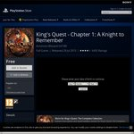 [PS3 & PS4] King's Quest - Chapter 1: A Knight to Remember - FREE (Was $9.99)