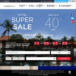 Accor Hotels up to 40% off Selected Hotels World-Wide