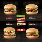 Hungry Jack's Whopper Junior - $2.95