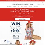 French Connection: 30% off Everything + Free Shipping