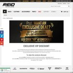 Reid Cycles VIP Discount 10% off Full Price Parts & Accessories, 5% off Full Price Bikes