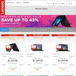 """Lenovo Early Boxing Day Sale - Up to 43% Off - Ideapad 300 i7 17"""" - $899 SAVE $800"""