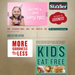 Kids Eat Free + Free Taster (with Purchase of Adult Meal) at Sizzler [QLD, NSW and WA Only]
