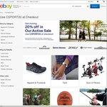 20% off at Selected Sellers (Harvey Norman, Reid Cycles, Kathmandu, Brand House Direct + More) @ eBay