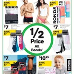All Bonds 1/2 Price at Woolworths