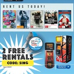 2 Free Movie Rentals @ Video Ezy