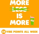 Boost 3x Vibe Points for ONE Week