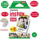 120 Sheet Fujifilm Instax Mini Film for $85 Delivered @ Bestforapple eBay