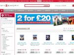 Mymemory UK -  2 Bluray for 20GBP plus flat post 1.95GBP about $20AUD per movie