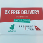Deliveroo - 2x Free Deliveries