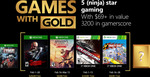 Xbox Games with Gold February 2018 - Shadow Warrior, Assassin's Creed Chronicles: India, Split/Second & Crazy Taxi