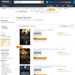 Kindle eBooks: The Witcher series books on Kindle £0.99 ($1.76) each on Amazon UK