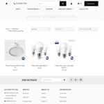 Philips LED Down Light / Bulbs - from $3.95 (Further 15% off /W Coupon) @ Lectory.com.au