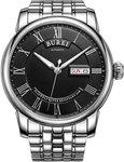 Burei Black or Silver Dial Dress Watch (Seiko Auto) US$52.17 (~AU$69.50) Shipped @ Amazon