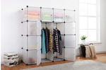 Kogan 16 Cube Modular Storage Unit (White) - $29 (Save $100) + Shipping (Free Shipping with Shipster Free Trial)