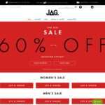 Free Shipping @ JAG e.g. Logo Cap + Belt $9 Delivered | Shirts $5 - $9 (Using $20 off Code)