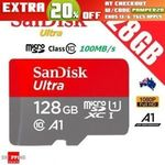 SanDisk Ultra 128GB Micro SD SDXC TF UHS-I Class 10 Card. $47.92 Delivered @ Shopping Square (eBay)