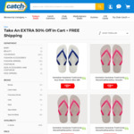 Havaianas Thongs $6 Delivered @ Catch (Lux Clearance)