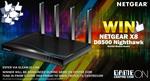Win a NetGear D8500 Nighthawk X8 Modem Router Worth $589 from Centre Com