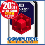 WD Red 8TB Hard Drive $303.20 + $15 Delivery (Free with eBay Plus) @ Computer Alliance eBay