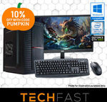 "Gaming PC Bundle: i5 8400 / GTX 1060 6GB / 8GB DDR4 / 120GB SSD + 27"" Monitor + KB/Mouse: $949 Delivered @ TechFast eBay"