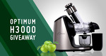 Win an Optimum H3000 Juicer Worth $799 from Froothie