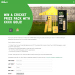 Win a Cricket Prize Pack Worth $1,330 or 1 of 18 Minor Prizes from The Bottle-O/Cellarbrations/IGA Liquor