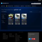 [PS3] Splinter Cell Complete $12.48, Splinter Cell Blacklist Deluxe $8.98/Classic $6.88 @ PlayStation Store Australia
