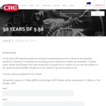 Win 50 Cans of Aerosol Products Worth $1,187 from CRC Industries