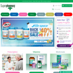 Free Shipping (No Min Spend) @ Superpharmacy