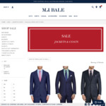 100% Wool Suit Jacket $49 (Was $599-$399) @ M J Bale C&C or Spend over $100 Shipped
