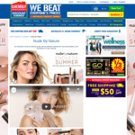 1/2 price RRP Nude by Nature Make-up, Cetaphil 1L Varieties $14.99 (40% off) @ Chemist Warehouse